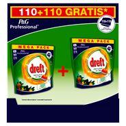 Dreft Clean & Fresh Citrus Tuin Vaatwastabletten 110 + 110 stuks