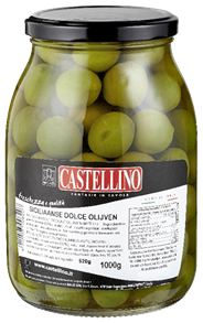 Castellino Siciliaanse Dolce olijven 1 kg