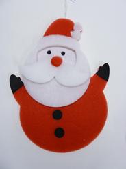 Peha Hangfiguur kerstman 34 x 46 cm