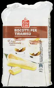 Fine Life Italian sponge fingers 500 gram