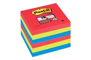 3M 654-6SS-JP Vierkant Groen, Rood, Geel zelfklevend notitiepapier