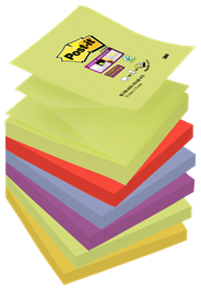 Post-it Super sticky Z-notes kleurenset Bangkok 76 x 76 mm