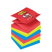 Post-It S330-6JP Square Multicolour self-adhesive note paper