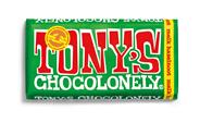 Tony's Chocolonely melk met hazelnoot 180 gram