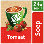 Unox Cup-a-Soup Sachets Tomaat 24 x 140 ml