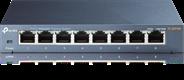 TP-LINK TL-SG108 V3.0 Unmanaged Gigabit Ethernet (10/100/1000) Zwart netwerk-switch