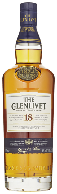 The Glenlivet 18 year old 6 x 700 ml