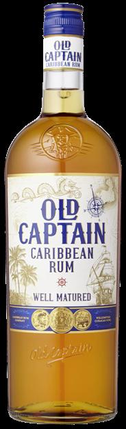 Old Captain Bruine rum 6 x 1 liter