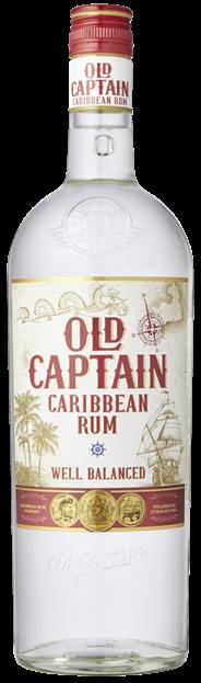Old Captain Witte rum 6 x 1 liter
