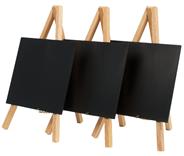 Securit Mini ezel zwart 3 stuks