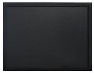 Securit Woody wandbord 40 x 60 cm zwart + krijtstift
