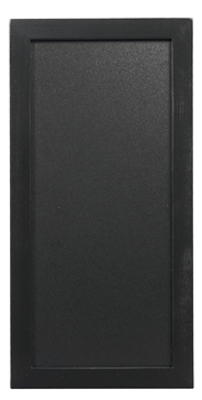 Securit Woody wandbord 20 x 40 cm zwart + krijtstift