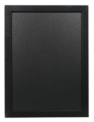 Securit Woody wandbord 30 x 40 cm zwart + krijtstift