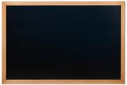 Securit Woody wandbord 60 x 80 cm teak + krijtstift