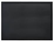 Securit Woody wandbord 60 x 80 cm zwart + krijtstift