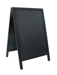 Sandwich Stoepbord 55 x 85 cm zwart