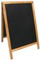 Securit SBDW-TE-85 Zwart, Hout schoolbord/toebehoren