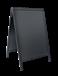Sandwich Stoepbord 75 x 120 cm zwart