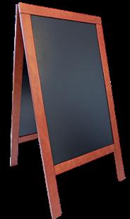 Sandwich Stoepbord 75 x 120 cm hout