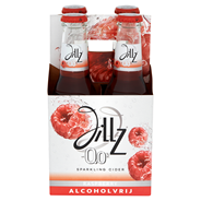 Jillz Raspberry 0.0% fles 4 x 230 ml