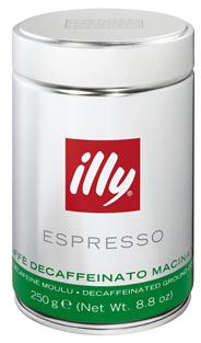 Illy Espresso cafeïnevrij gemalen 250 gram