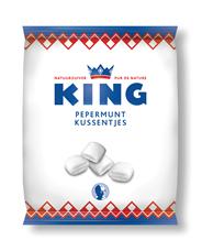King Pepermunt kussentjes 175 gram