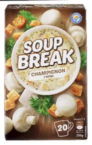 Soup Break champignon 20 x 175 ml