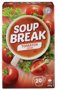 Soup Break tomaat crème 20 x 175 ml