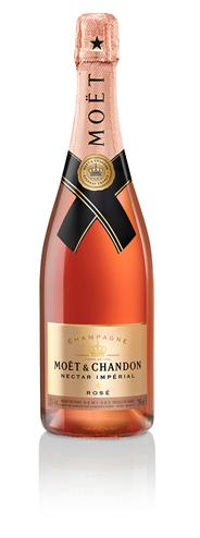 Moët & Chandon Nectar Impérial Rosé 6 x 750 ml