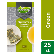 Pickwick Tea Master Selection Green tea lemon 25 x 1,5 gram