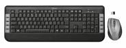 Trust Tecla Wireless Multimedia Keyboard & Mouse RF Draadloos Zwart