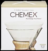 Chemex FC-100 filters voorgevouwen 100 stuks