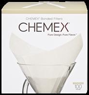 Chemex FP-2 filters ongevouwen 100 stuks
