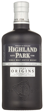 Highland Park Single malt dark origins 6 x 700 ml