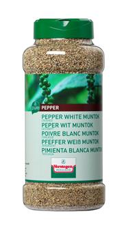 Peper wit Muntok gestampt bus 625 gram