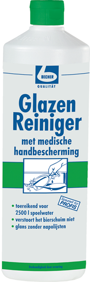 Dr. Becher Glasreiniger Handvriendelijk 1 liter