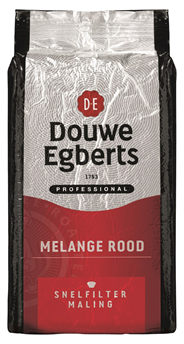 Douwe Egberts Melange rood snelfiltermaling 1 kg