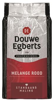 Douwe Egberts Melange rood standaardmaling 1 kg