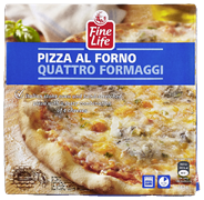 Fine Life Pizza al forno quattro formaggi 340 gram