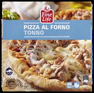 Fine Life Pizza al forno tonijn 375 gram