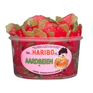 Haribo Aardbeien Fruitgom 150 Pièces 1350 g