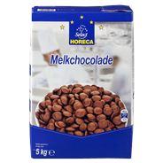 Horeca Select Chocolade callets melk 5 kg