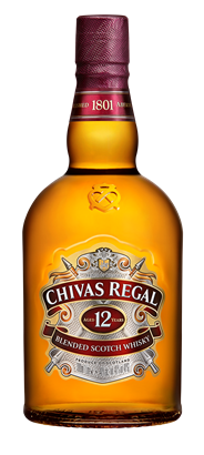 Chivas Regal Whisky 12 years 1 liter