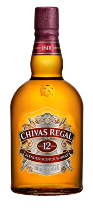 Chivas Regal Whisky 12 years 6 x 1 liter