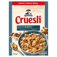 Quaker Cruesli 4 nuts 900 gram