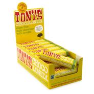 Tony's Chocolonely melk met noga 35 x 47 gram
