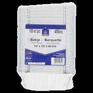 Horeca Select Aluminium bak 450 ml 100 stuks