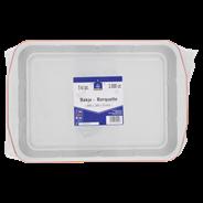 Horeca Select Aluminium bakjes koperkleur 3 liter 5 stuks
