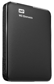 WD Elements Externe harde schijf 2TB 2.5'' USB 3.0