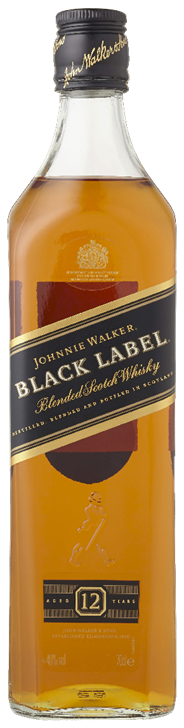 Johnnie Walker Black label 6 x 700 ml